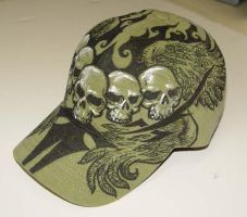 Skull Shield side by kevinesque