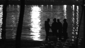 People by the Halic by TanBekdemir