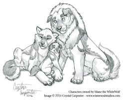 Shisa Family Portrait by soulofwinter