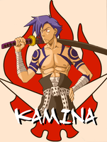 Kamina Colored by DrawerOfThings
