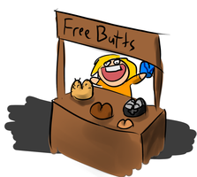 FREE BUTTS by Cryophase