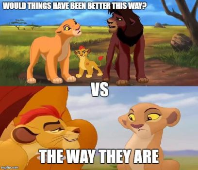 Lion Guard Should've Been After LK2? by Madarao123