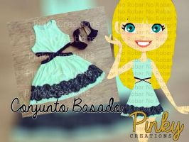 Conjunto para Pacific Dolls -Pinky by PinkyCreations1