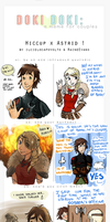 Couple Meme: Hiccup x Astrid. by ilcielocapovolto
