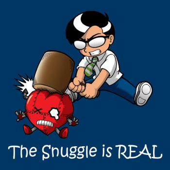 CD cover - The Snuggle is REAL by Thormeister