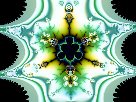 Fractal GOD1 by infinityfractals