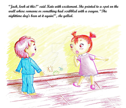 Children book illustration by claudia-polese