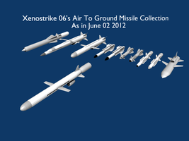 Air To Ground Missiles by Stealthflanker