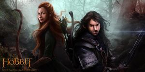 The Hobbit by nathaliagomes