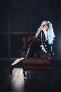 Black Cat Cosplay Marvel Spider-Man by AGflower