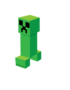 Minecraft: Creeper by VicTycoon