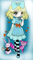 Alice In Wonderland Commission   Sketch By Yampuff by lilanna021