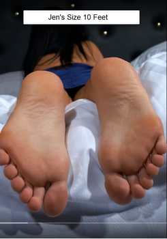 Jen's Size 10's by footlover527