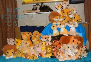 My Lion King Toy Collection by Cattensu