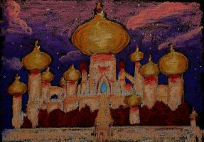 Agrabah, Aladdin's Palace by Cassiopeeh
