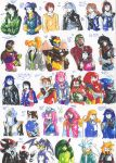 Felt pen doodles 104 by General-RADIX