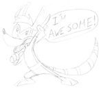 YOU'RE NOT SO AWESOME by battybuddy