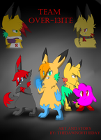 :CE: Team Over-Bite Cover by Dragonikku