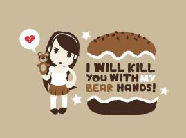 Bear Hands by anjinho