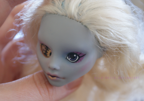 Printed custom doll eye - prototype by wild-drive