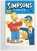 Simpsons Comic Cover by coliegren02