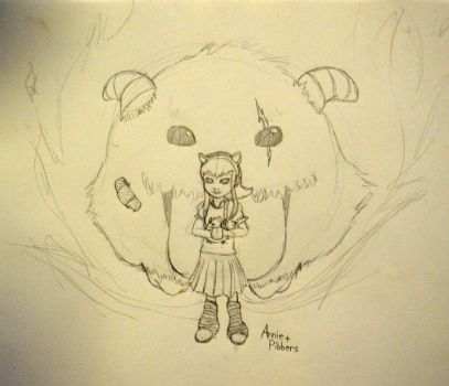 Annie and Pibbers by PongApp