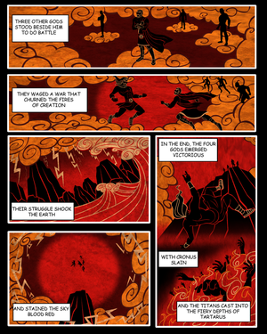 Commission: Mythology Issue 1 Page 2