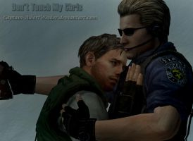 Don't Touch My Chris by Captain-AlbertWesker