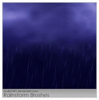 Rainstorm brushes by Scully7491