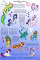 G1 Ponies Character Sheet, Page Three by Starbat