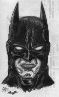 Dark Knight quick sketch by sebatman