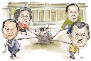 PRESIDENT CANDIDATES ISSUE by tonykartun