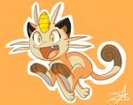 Meowth That's Right by GJKou