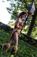 Nidalee 2 by Insane-Pencil