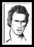 Clint Eastwood by marmicminipark
