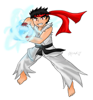 Fighters United: Ryu by Xero-J
