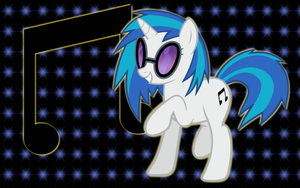 Vinyl Scratch WP 2 by AliceHumanSacrifice0