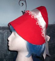 Valentines Travelling Hat by GothicDorothy