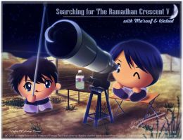 Searching for Crescent V 1433H by Kauthar-Sharbini