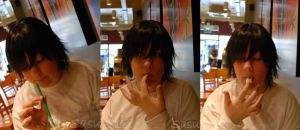 Lawliet Cream Collage by Amaikoibito