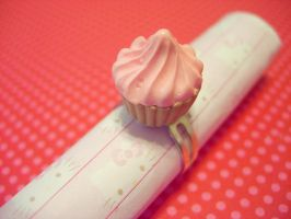 Cupcake Ring by pinkDudu