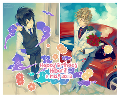 Happy Birthday Hibari! 2012 by Celsa