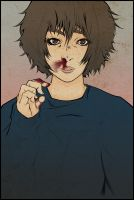Nose Bleed Girl by Ethird