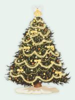 .:Golden Christmas Tree:. by MrEdison