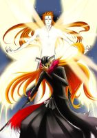 Bleach: Aizen Vs. Ichigo by xKABOSx