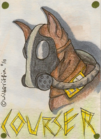 Courser ACEO by WildGriffin
