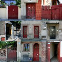 Doors of Bucharest by cenumesimplu