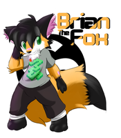 GIFT  = Brian the Fox = by stial08