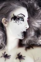 Spider Queen Halloween Makeup by Chuchy5