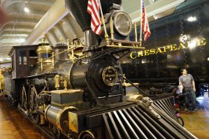 1858 Rogers Locomotive by kolishtikovich